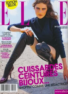 ELLE Belgique - Octobre 2014